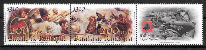 sellos temas varios Chile 2014