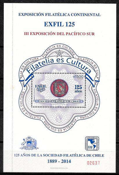 filatelia temas varios Chile 2014