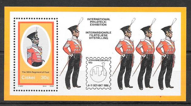 sellos temas varios Ciskei 1986