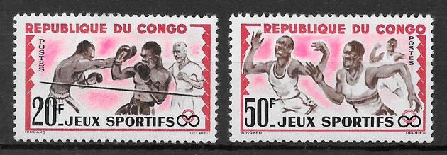 selos deporte Congo 1962
