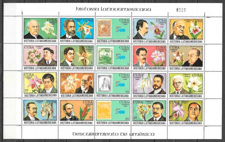 filatelia temas varios Cuba 1988