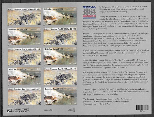sellos temas varios USA 2014