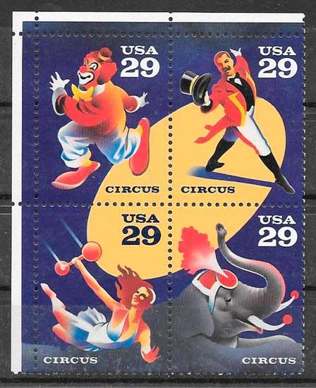 filatelia colección temas varios USA 1993