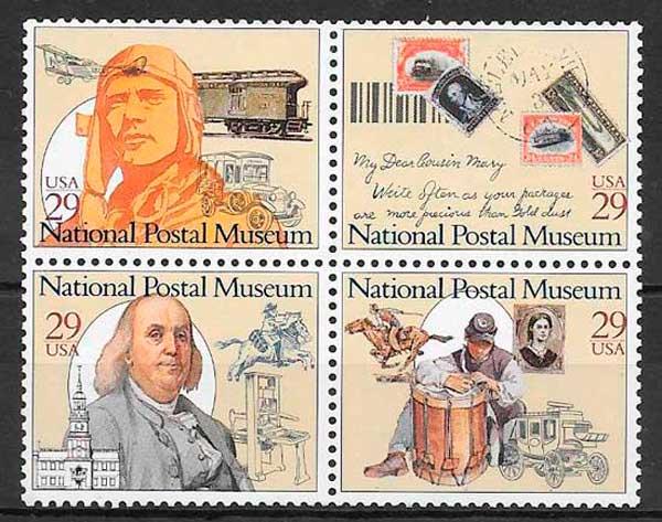 sellos temas varios USA 1993