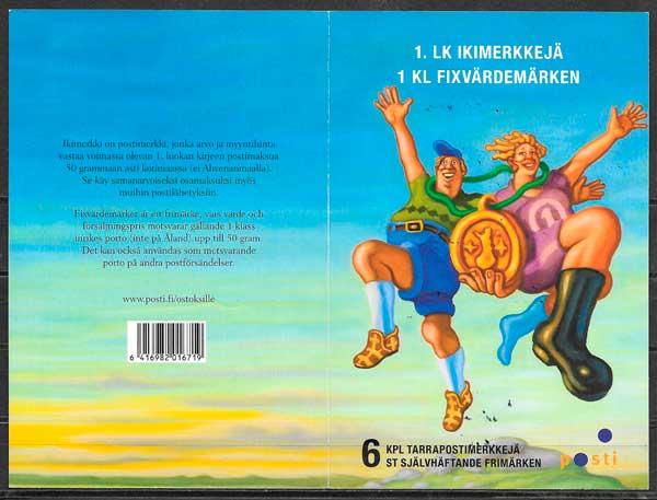 colección sellos temas varios Finlandia 2013
