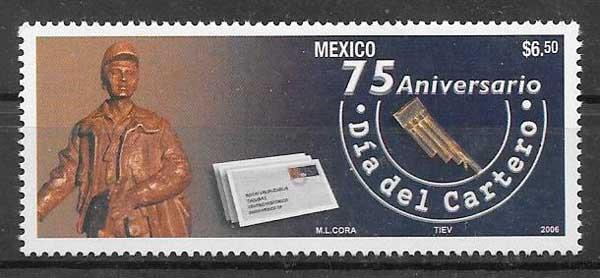 sellos temas varios México 2006