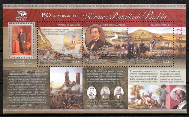 sellos temas varios Mexico