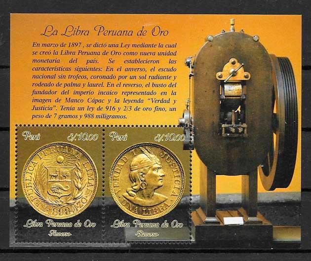 sellos temas varios Perú 2014