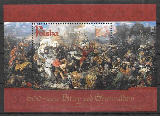sellos batallas Polonia 2010