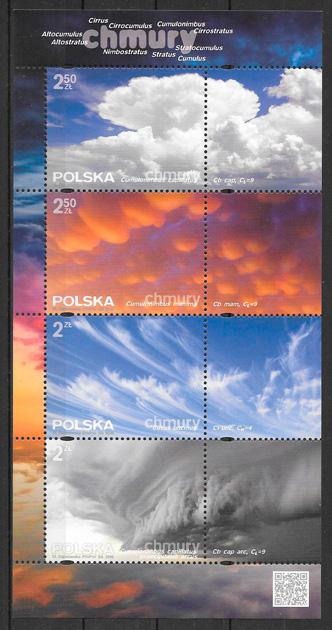 sellos temas varios Polonia 2016