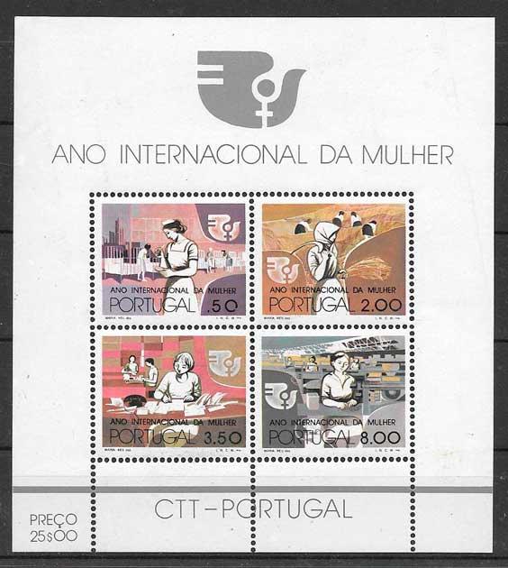 sellos temas varios Portugal 1975