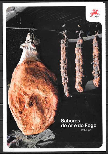 coleción sellos temas varios Portugal 2013