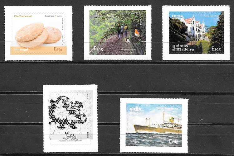 sellos tema varios Madeira 2015