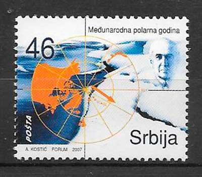 sellos temas varios Serbia 2007