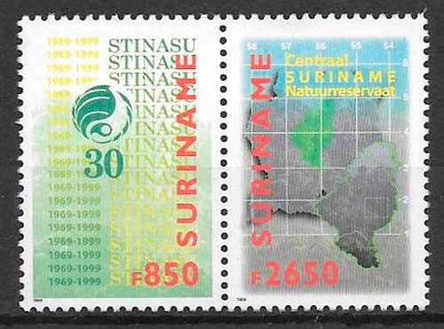 sellos temas varios Suriname 1999