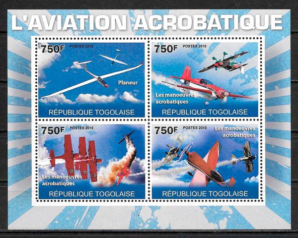 sellos deporte Togo 2010