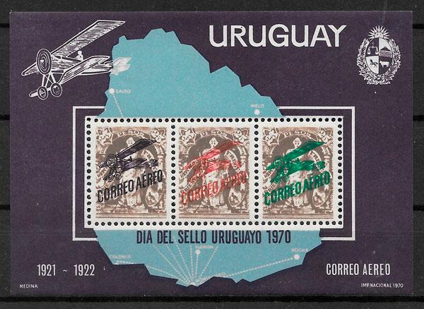 filatelia temas varios Uruguay 1970