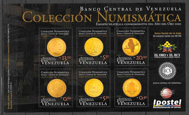 fuilatelia varios temas venezuela 2011