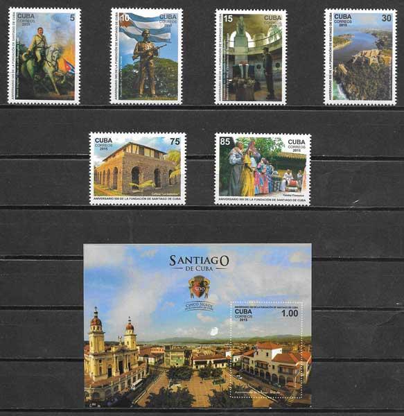 sellos arquitectura Cuba 2015