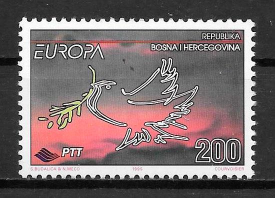 filatelia Europa Bosnia Herzegovina 1995