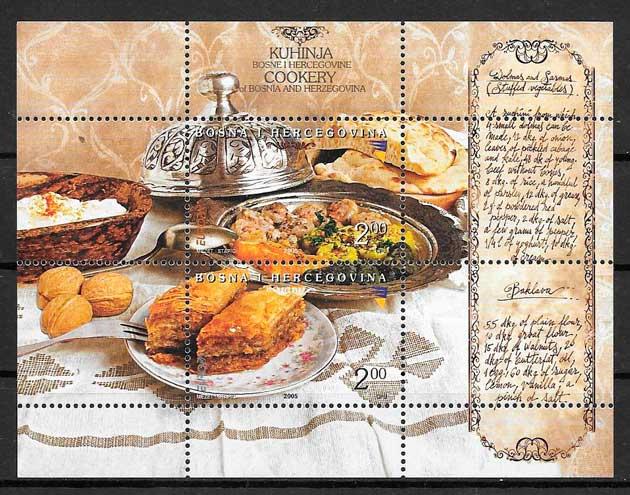 colección sellos tema Europa Bosnia Herzegovina 2005