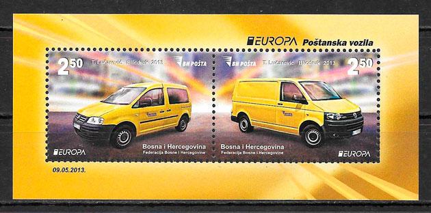 filatelia Europa Bosnia Herzegovina 2013