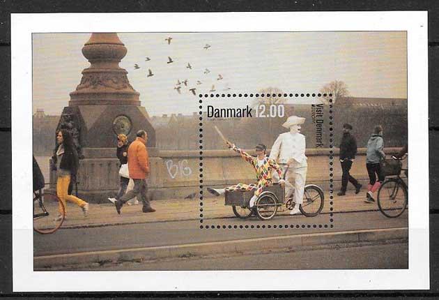 sellos filatelia tema Europa Dinamarca 2012