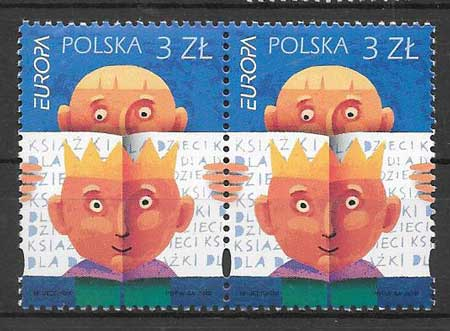 filatelia tema Europa Polonia 2010