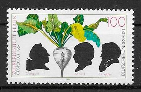 sellos frutas Alemania 1992