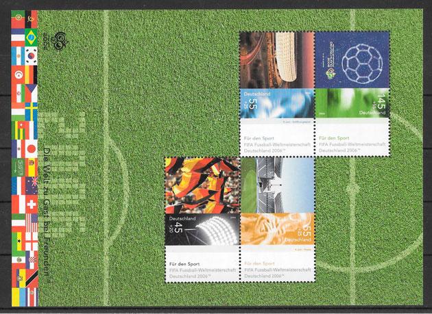 sellos fútbol Alemania 2006