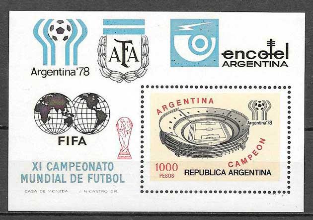 sellos futbol Argentina 1978