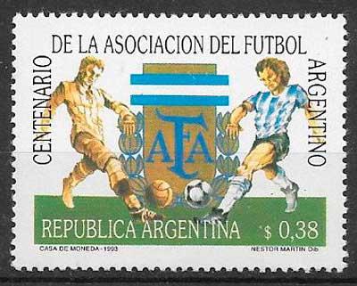 sellos futbol Argentina 1993