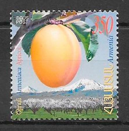 sellos frutas y verduras Armenia 2007