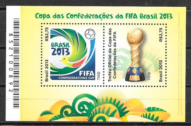 colección sellos fútbol 2013