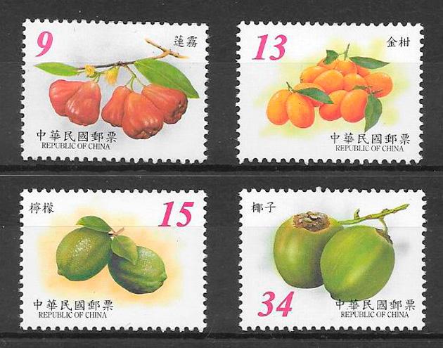 sellos frutas Formosa 2003