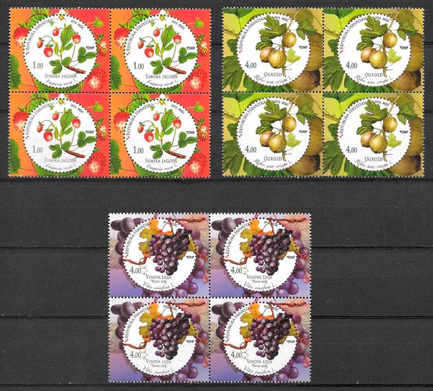 sellos frutas Croacia