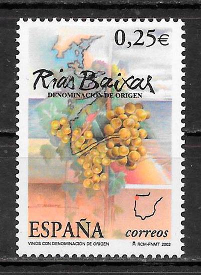 selos frutas Espana 2002