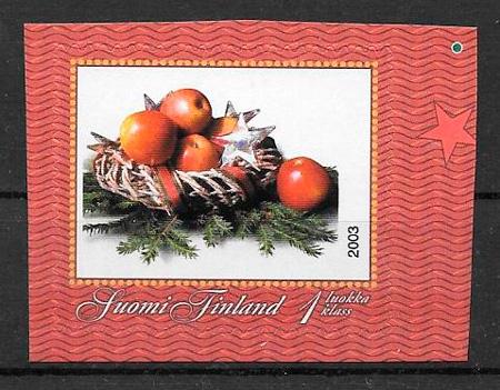 sellos frutas Finlandia 2003