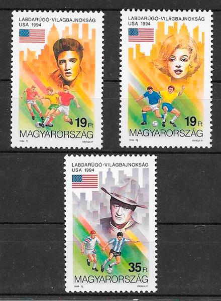 sellos fútbol Hungría 1982