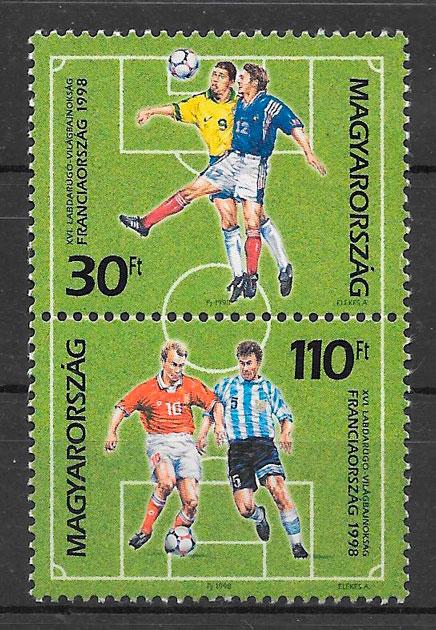 sellos fútbol Hungría 1998