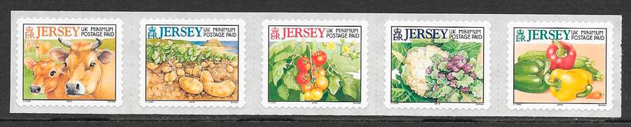 colección sellos frutas Jersey 2001