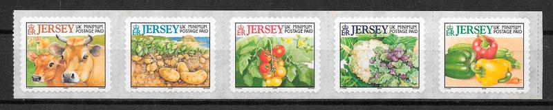sellos frutas Jersey 2002