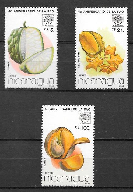 sellos frutas Nicaragua