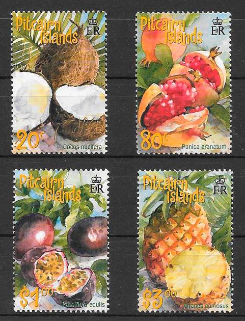 sellos frutas Picarin Island 2001