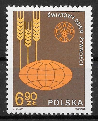 selos verduras Polonia 1981
