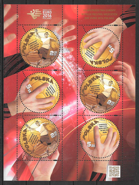 sellos deporte Polonia 2016