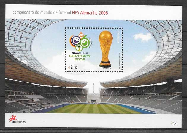 sellos fútbol Portugal 2006
