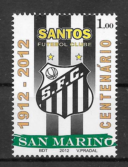 colección sellos San Marino 2012