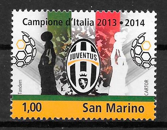 colección sellos San Marino 2014