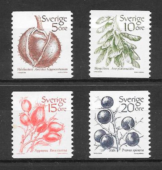 colección sellos Suecia 1983